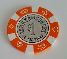 $1 Las Vegas Jerry's Nugget Casino Chip - Near Mint