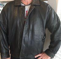 Vintage Valentino UOMO Men's Leather Jacket EU 44