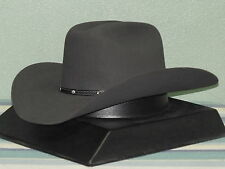 "STETSON 6X GRANITE ""ANGUS"" COWBOY WESTERN HAT"