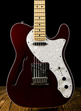 Fender Deluxe Telecaster Thinline Candy Apple Red - Free Shipping