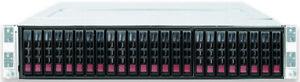 Supermicro 2028TP-HC1TR 4x X10DRT-PT 8x Xeon E5-2680V3 2048GB 2U Node Server