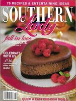 Southern Lady Magazine Chocolate 75 Recipes And Entertaining Ideas 1 Dish Meals