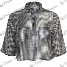 Camisas y tops de mujer de manga corta de chifón