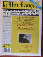 Le Film Français N°2213 (30 sept 1988) Festival Floride - 7 d'or sur fond crise