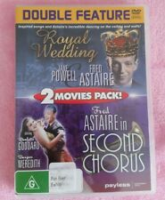 Double Feature DVD Royal Wedding & Second Chorus REGION All (Au Seller)