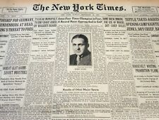 1930 SEPTEMBER 28 NEW YORK TIMES - JONES FOUR TIMES CHAMPION IN YEAR - NT 6186