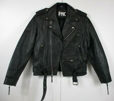 FMC Classic Bike Jacket Black Laced Men's Size 40 New without tags