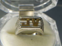 "DICK TRACY MONOGRAM 1930's -  ""SUPER RARE""  NM ""PROTOTYPE"" PREMIUM RING"
