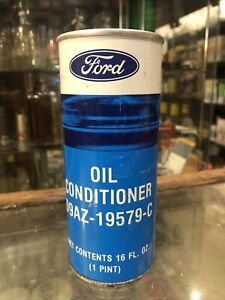 Ford Oil Conditioner 1 Pint Vintage Tin