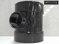 "Solvent 110mm Soil Pipe 1 1/2"" 40mm 43mm Waste Boss Reducer Black Glued"