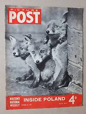 ANCIEN MAGAZINE - PICTURE POST - N° 3 VOL. 37 - 18 OCTOBRE 1947 *