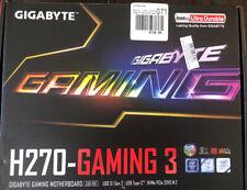 Gigabyte GA-H270-Gaming 3 LGA 1151 ATX Intel Motherboard