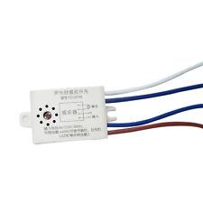 220V Auto ON/OFF Voice/Sound Light Control Sensor Detector LED Lamp Switch Loud