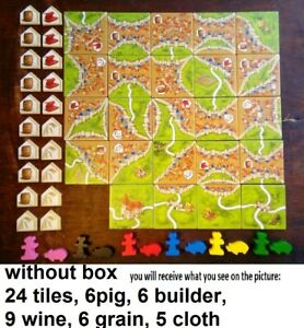 Carcassonne Traders & Builders Expansion NO BOX