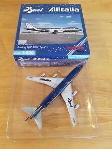 "Herpa WINGS 1:500 502672 Alitalia Boeing 747-200 ""Baci"", Registr., wie neu, OVP"