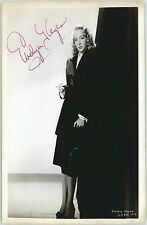 EVELYN KEYES (DECEASED) SIGNED 8X10 JSA AUTHENTICATED COA #P41647