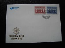 ILES FEROE (danemark) - enveloppe 2/4/1984 (B1)