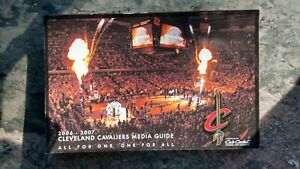 2006 2007 Cleveland Cavaliers Media Guide. LeBron James. Official NBA Guide.