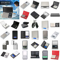 500gx0.1g Digital Scale LCD Electronic Balance Weight Pocket Jewelry Scale LOT