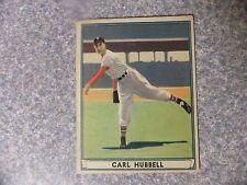 L#577 1941 Play Ball #6 Carl Hubbell, New York Giants, original, VG-EX