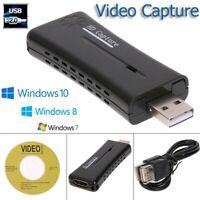 Mini carte de capture video de moniteur HDMI de HD de port USB 2.0 portatif O4K1