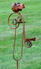 Red Barrel Studio Jolicia Dog and Bone Iron Swing Garden Stake