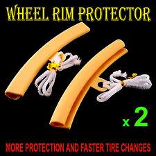 ALLOY WHEEL RIM EDGE PROTECTOR CAR MOTORBIKE MOTORCYCLE (FLEXIBLE & DURABLE)