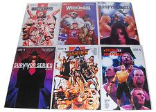 6 WWE Specials, Wrestlemania, Summer Slam, Survivor Series, Royal Rumble, MM Lot
