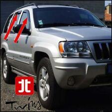 Set 4 Deflettori Aria Antiturbo Oscurati Jeep Grand Cherokee WJ 1999-2005