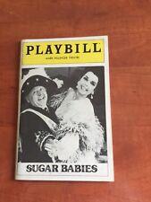 Vintage Playbill Sugar Babies at Mark Hellinger Theatre June 1982  New York NY