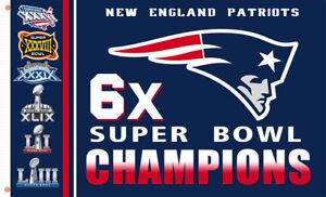 New England Patriots Champions 6x flag 90x150cm 3x5ft best banner