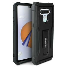LG Stylo 6 (2020) Rugged Phone Case with Screen Protector and Kickstand - Evocel