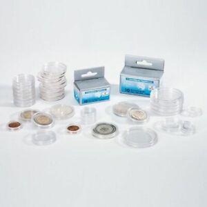 Leuchtturm 100 capsules pour pièces de monnaie diamètre intérieur 26 mm