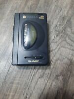 Sharp AM-FM Stereo Cassette Player JC-150(GY) tested