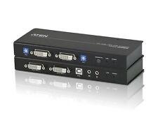 Aten CE604 USB DVI Dual View Cat 5 KVM Extender