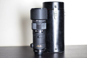 Nikon AF 300mm F4 FX Prime Telephoto Lens w/ Case