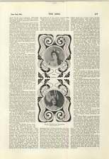 1900 Edith Walker è BRUNILDE Rosa olitzka Mrs Matthew lockhead JOHNNY Briggs