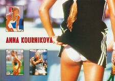 LOT OF 2 POSTERS: SPORTS: TENNIS:  ANNA KOURNIKOVA-  FREE SHIP  #AA762    RW6 B