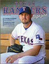 2013 Texas Rangers Program Matt Harrison Volume 42 No. 2 Philadelphia Phillies