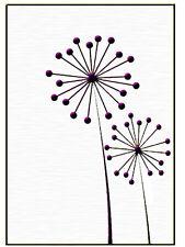 """Nellie Snellen Embossing Folder """"Ball Flowers"""" Hsf001 For Cards"""
