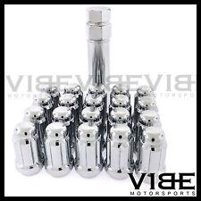 (20) M12X1.25 12X1.25 CHROME SPLINE TUNER WHEEL LUG NUTS FITS G35 G37 350Z 370Z