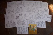 NEW! FLINTSTONES FINAL FLING ANIMATORS MODEL SHEETS HANNA BARBERA Artist Guide