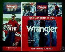 Wrangler Jeans Mens Fashion Ad 2006 Dale Earnhardt Jr.