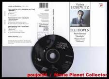 "BEETHOVEN ""3 Piano Sonatas"" (CD Digipack) Horowitz 2003"
