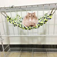 1Pcs Parrot Climbing Ladder Cotton Rope Net Pet Activity Toy for Hamster Ferret