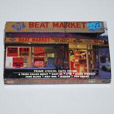 Jive Beat Market '98 PROMO Cassette Tape Rap Hip Hop Tribe Called Quest KRS-One