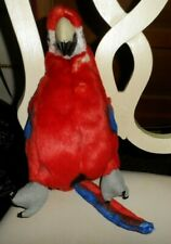 """Red Parrot Bird Golf Club Cover by Jp Lann Golf Animal Collection 13"""""""
