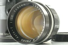 【NEAR MINT+++ w/ Case】 Olympus G Zuiko Auto T 60mm f/1.5 Lens for F FT FV Japan