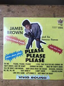 James Brown Please Please Please Lp Original 1960s US Issue Still Sealed