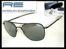 RANDOLPH ENGINEERING AVIATOR BLACK BAY FLASH MIRROR LENSES 58 mm SUNGLASSES